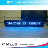 高い明るさP10の赤いカラー半屋外LED移動印(プログラム可能な)