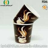 6 oz Papel desechable taza caliente, la taza de papel impreso (6 oz)