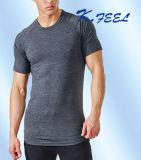 OEM 중국 공급자에게서 t-셔츠를 인쇄해 운동 면 남자