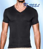 T-shirt sportif d'impression d'hommes de coton d'OEM de fournisseur de la Chine