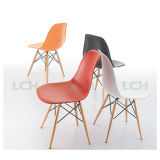 كرسي تثبيت بلاستيكيّة مع خشبيّة ساق نسخة [دسو] [إمس] كرسي تثبيت