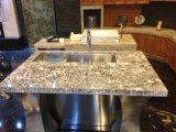 Grossista Prefab Mesa de jantar Kitchen Countertop Bianco Antico White Granite