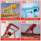 Plant d'acciaio Outdoor Lifting Solution Double Girder Gantry Crane 50t