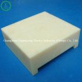 Folha plástica do amarelo PA66 do arroz do CNC da placa
