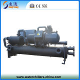 저온 물에 의하여 냉각되는 나사 냉각장치 (- 20C)