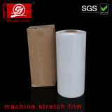 25-28mircon grosor de material original LLDPE Pre-Stretch Film Smooth Film