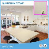 台所のための中国白の人工的な水晶カウンタートップ