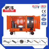 Máquina de lavar de alta pressão completa do jato de água da solução do sistema