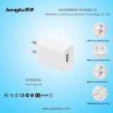 5V / 0.5A / 2.5W USB Mobilephone Charger met U. S Standard UL-certificaat Plug