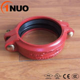Color azul Ductile Iron Pipe Grooved Fittings para el circuito de agua