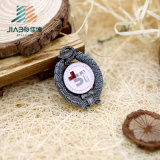 Distintivo su ordinazione di Pin del risvolto della Malesia dello smalto del metallo di colore antico