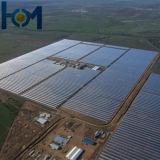 vetro solare del ferro basso Tempered dell'arco di 3.2mm per il modulo di PV