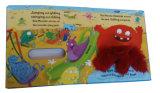 Livre de panneau de sensation de contact d'enfant avec le jouet