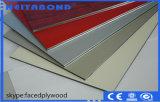 Panneau composé en aluminium de couleur en bois populaire avec la taille 1220*2440*3mm
