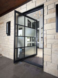 Алюминиевая разбивочная дверь оси