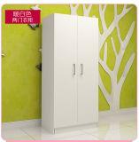 2 het Kabinet van de Garderobe van de Melamine van deuren