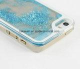 iPhone 5/6/6sの液体の砂の携帯電話の箱のための携帯電話カバー流砂のパソコンの箱をカスタム設計しなさい