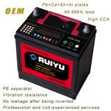 батарея автомобиля кисловочного руководства 12V 45ah загерметизированная Ns60lmf безуходная