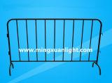 Barrière van de Controle van de Menigte van het Verkeer van de Omheining van het Metaal van de veiligheid de Voet Draagbare