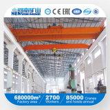 Guindaste aéreo da viga dobro modelo do Lh do preço de fábrica/guindaste de ponte de viagem grua elétrica para a venda