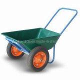 O dobro roda o carrinho de mão de roda para o mercado americano (WB6406)