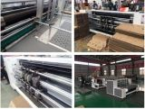 Machine de découpage de Slotter d'imprimante semi-automatique