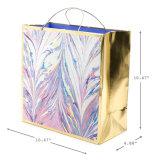 Довольно пастельный бумажный мешок подарка, бумажный мешок, мешок искусствоа бумажный