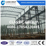 Almacén/taller galvanizados de la estructura del marco de acero del aislante de calor