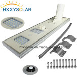 Migliore prezzo 5W-120W tutto in un indicatore luminoso solare solare del giardino dell'indicatore luminoso di via del LED con l'alta qualità