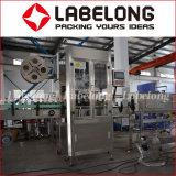 Planta de rotulagem de manga de garrafa vazia, fornecedor de China