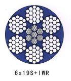 직류 전기를 통하지 않은 철강선 밧줄 6X19 Iwrc