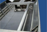 14FT aluminium dat BasBoot met het Hoofd van V en de Bodem van V vist