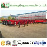 고품질 40t 3 차축 골격 콘테이너 트럭 트레일러