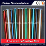 Green Silver Decorative Reflective Building Film Glass Film pour Windows