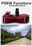 호두 베니어 단단한 나무 행정상 책상 (PS-001)