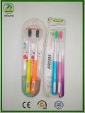 Heißes heißes heißes! gute auserlesene erwachsene Zahnbürste der Verpackungs-2-PC, des Geliebten oder der Familie