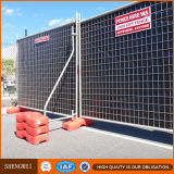 Frontière de sécurité portative en métal d'arrière-cour de frontière de sécurité en métal de frontière de sécurité provisoire de l'Australie
