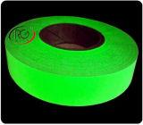 La cinta adhesiva anti de los parásitos atmosféricos y de la fluorescencia del PVC, papel del desbloquear, crece en cinta oscura