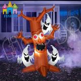 De opblaasbare Dode Boom van de Overwelfde galerij van de Pompoen van Halloween Lichte
