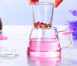 Tazza di tè di vetro di qualità principale con il filtro