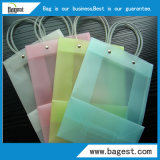 Подгонянная сумка подарка хозяйственной сумки PVC пластичная с ручкой