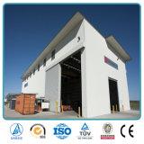 Edificios claros prefabricados del almacén de la tela del palmo
