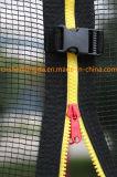 55inch. Trampolino di salto della famiglia di forma fisica con la rete di sicurezza