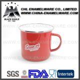 Taza de café modificada para requisitos particulares tono del esmalte de la fábrica dos para las ventas
