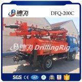 Beweglicher Dfq-200c LKW hing verwendete Wasser-Bohrmaschine ein