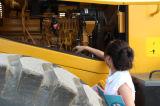 Chargeur sur pneus Cat3306b Engine 162kw 5ton pour travaux publics