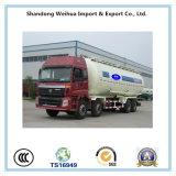 반 트레일러의 세 배 차축 Fuwa 차축 35 Cbm 기름 연료 유조 트럭