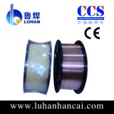 Fio de soldadura 0.8mm do MIG do protetor do gás do CO2 Er70s-6