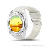 Teléfono móvil del reloj elegante barato de Bluetooth para el regalo de la promoción (W8)