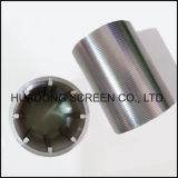 Filtro de vela de aço inoxidável 316L Roundness Filtro de tubo ranhurado para indústria de cerveja